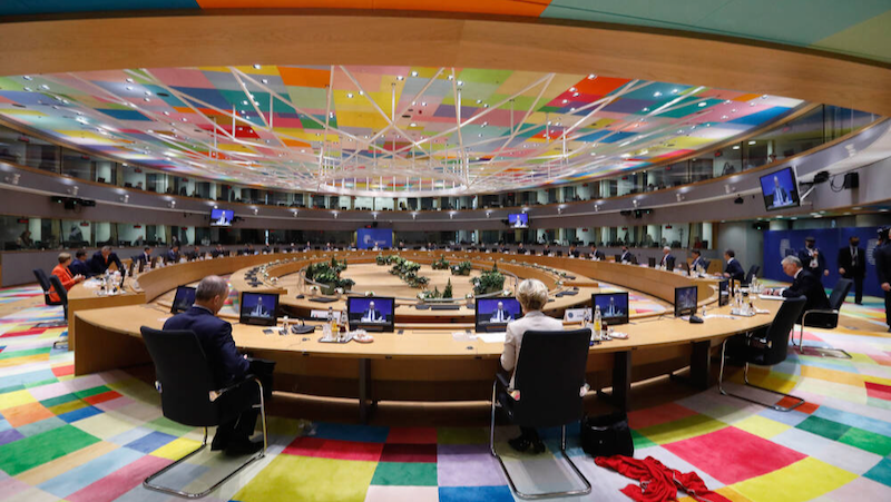 EU Council meeting in Brussels