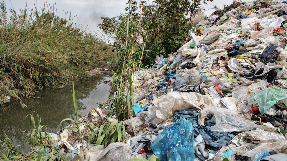 Illegal dumping grounds in Adana